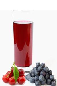 sok od borovnice i visnje