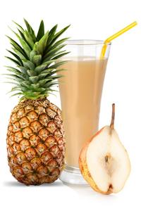sok od kruske i ananasa