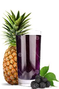 sok od kupine i ananasa
