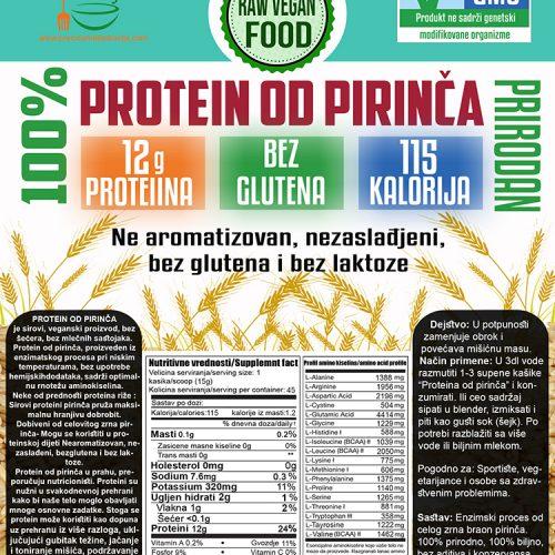 NNProtein od pirinča NOVO